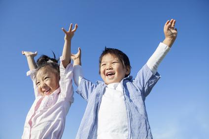 笑顔の子供達にする子育て方法