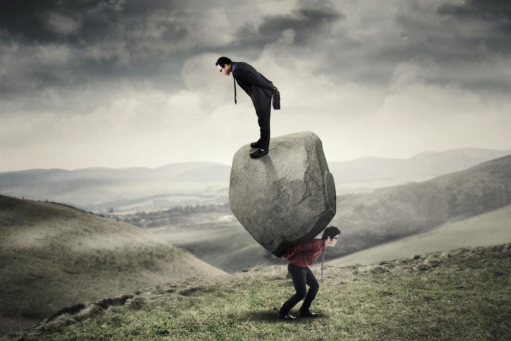 苦しみを背負わされていることに気づかないで他人の苦しみを自分の苦しみだと勘違いしている?課題の分離をしましょう!