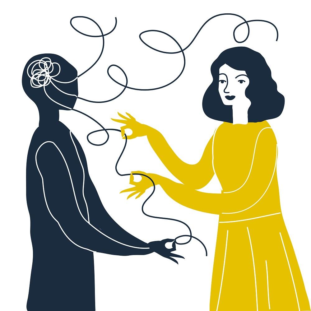 混乱し矛盾した嘘が混ざったコミュニケーションが相手にとってはモラルハラスメントと感じることもある