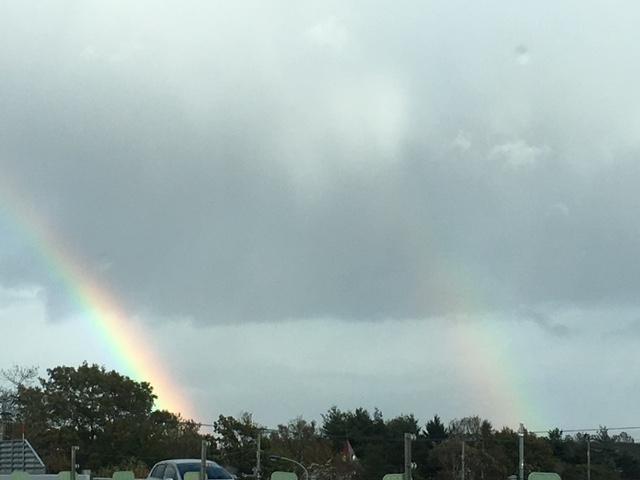 二つの虹(ダブルレインボー)