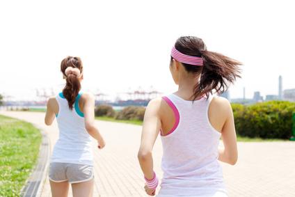 ジョギングとプラス思考