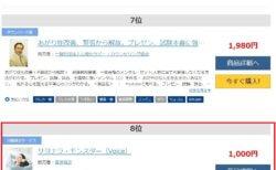 【恐怖克服】サヨナラ・モンスター(Voice)が大手販売サイトのランキングで8位でした!